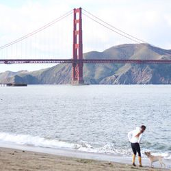 """Begin your Saturday with a jog on Crissy Field; photo by <a href=""""http://www.seadogranch.com"""">Brendan Cooney</a>"""