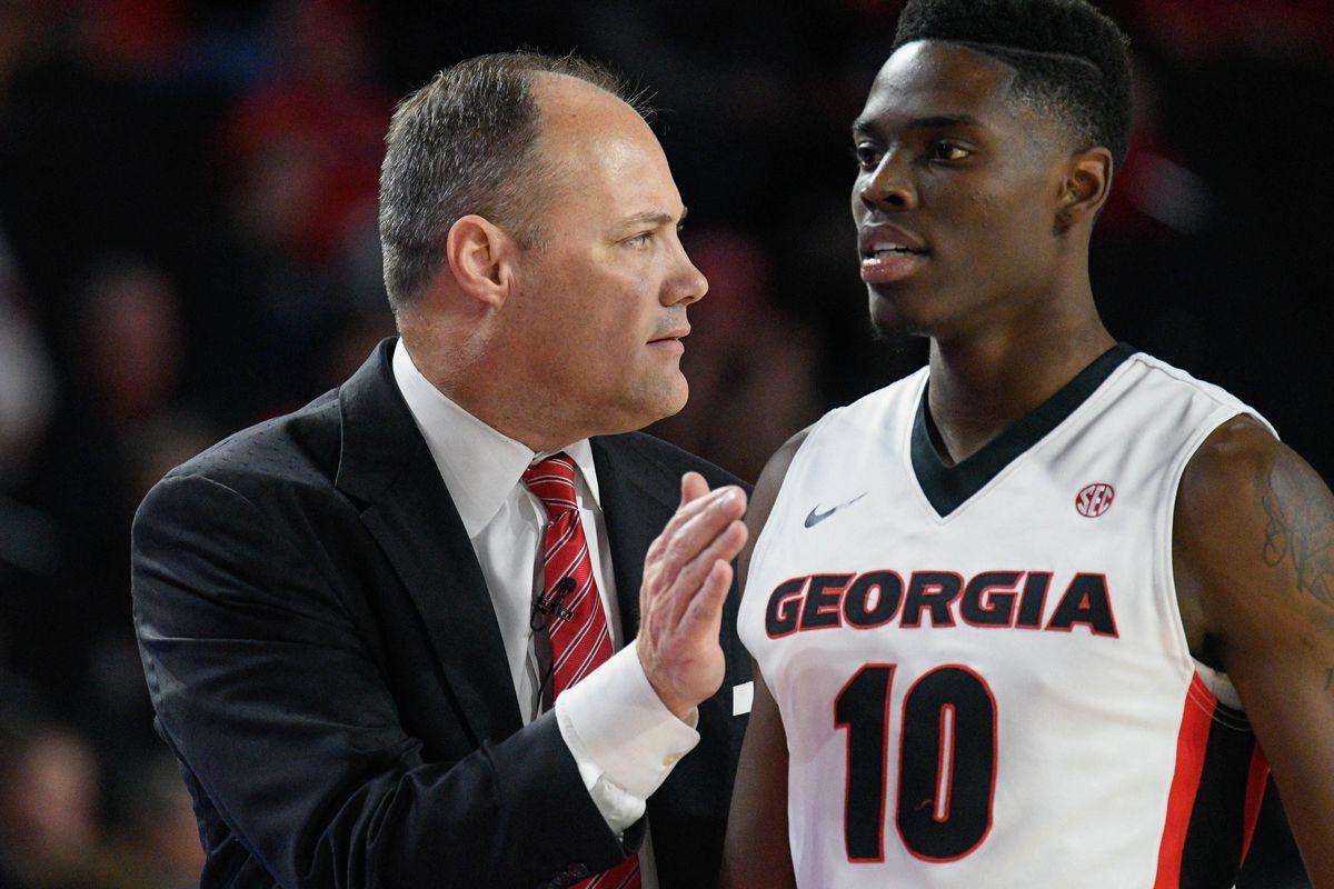 NCAA Basketball: Temple at Georgia