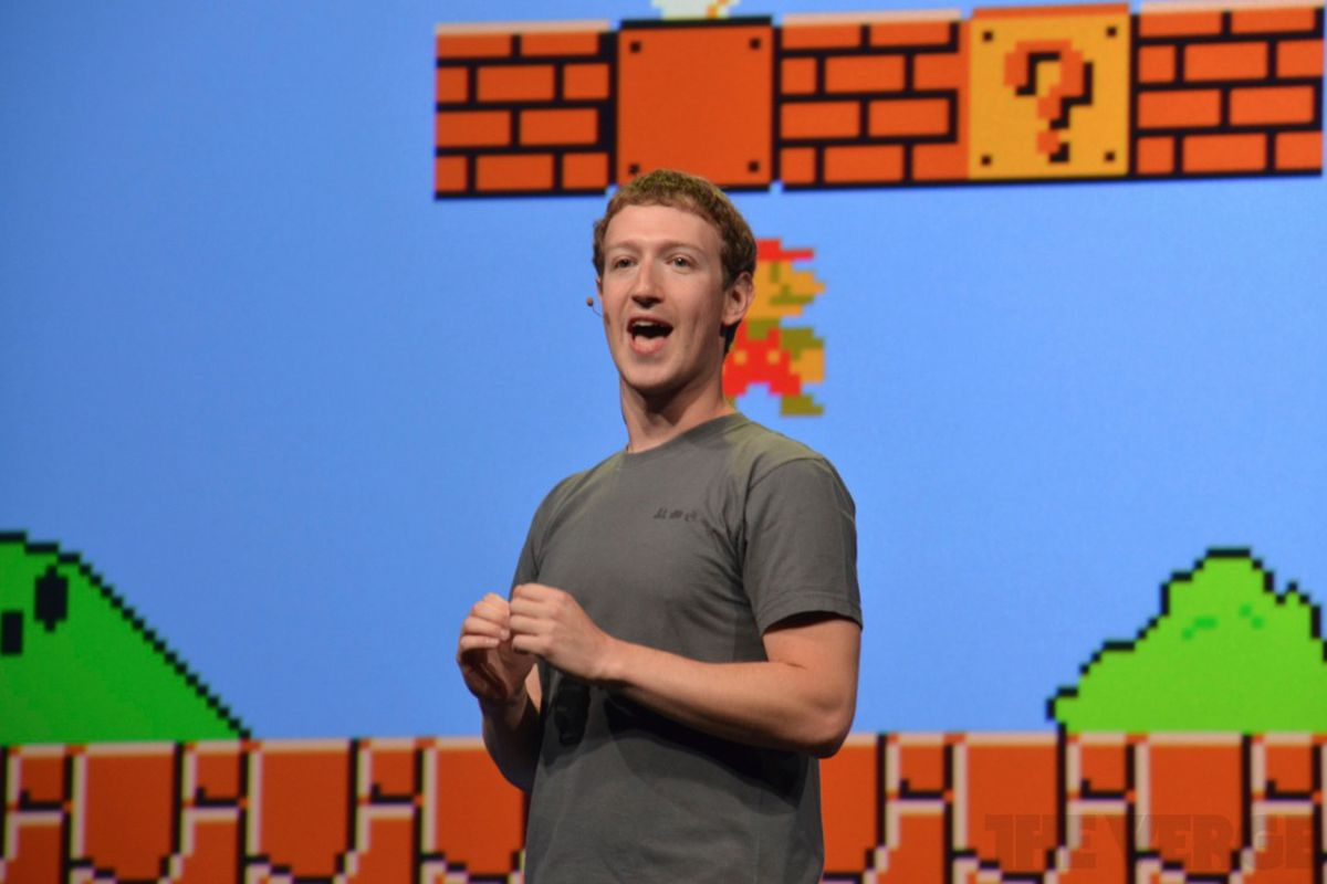 Zuckerberg Mario 1000