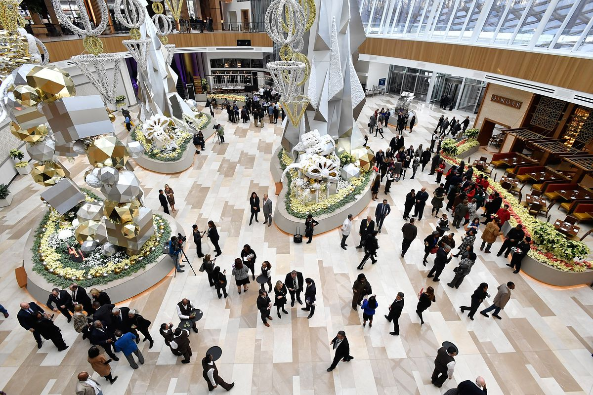 MGM National Harbor's $48 million second-level casino space