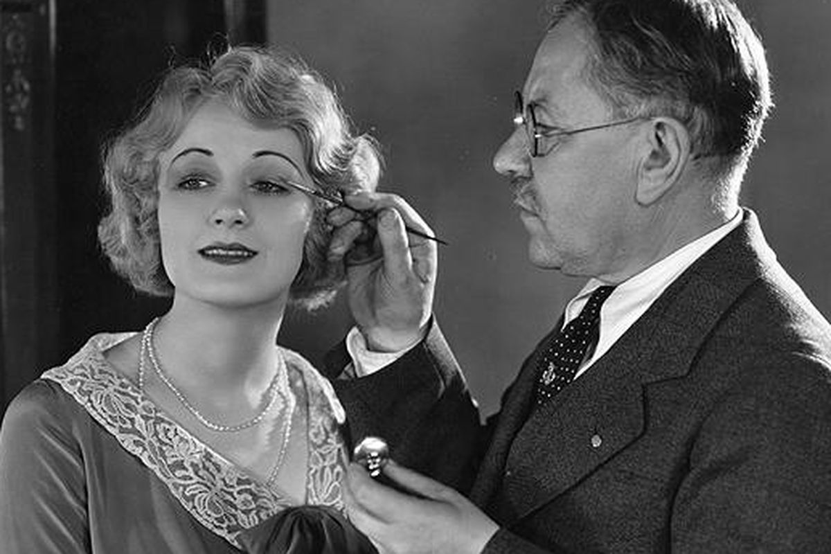 """Max Factor at work. Image via the <a href=""""http://www.telegraph.co.uk/finance/5452744/Max-Factor-goodbye-America.html"""">Telegraph UK</a>."""