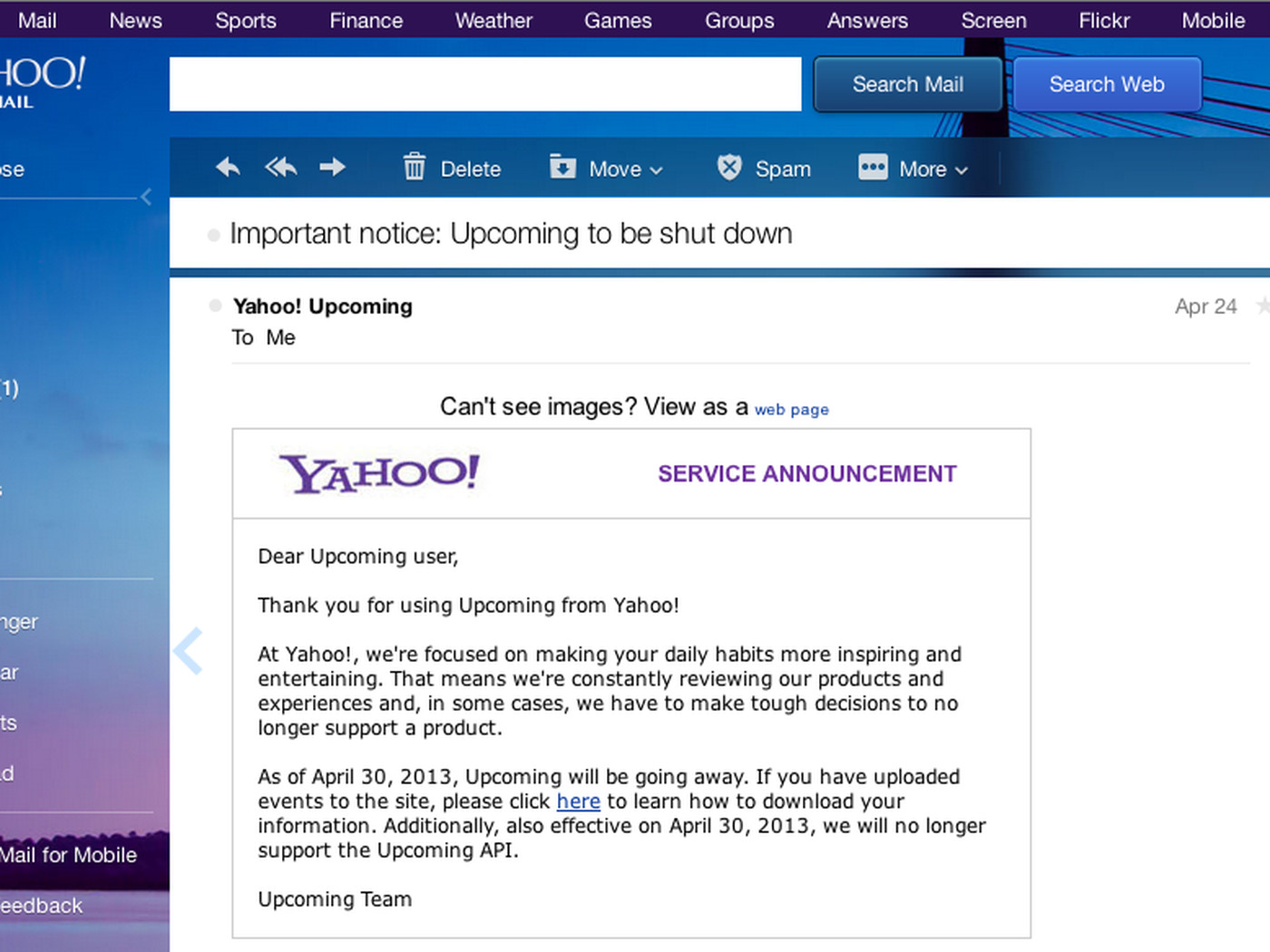 Yahoo Mail resets user passwords after discovering an