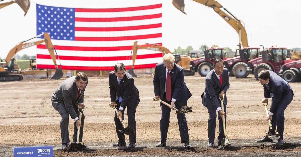 photo image Foxconn and the village: the $10B factory deal that turned one small Wisconsin town upside down