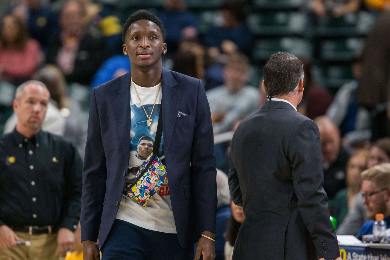 Victor Oladipo won't be suiting up for Mad Ants as part of his recovery