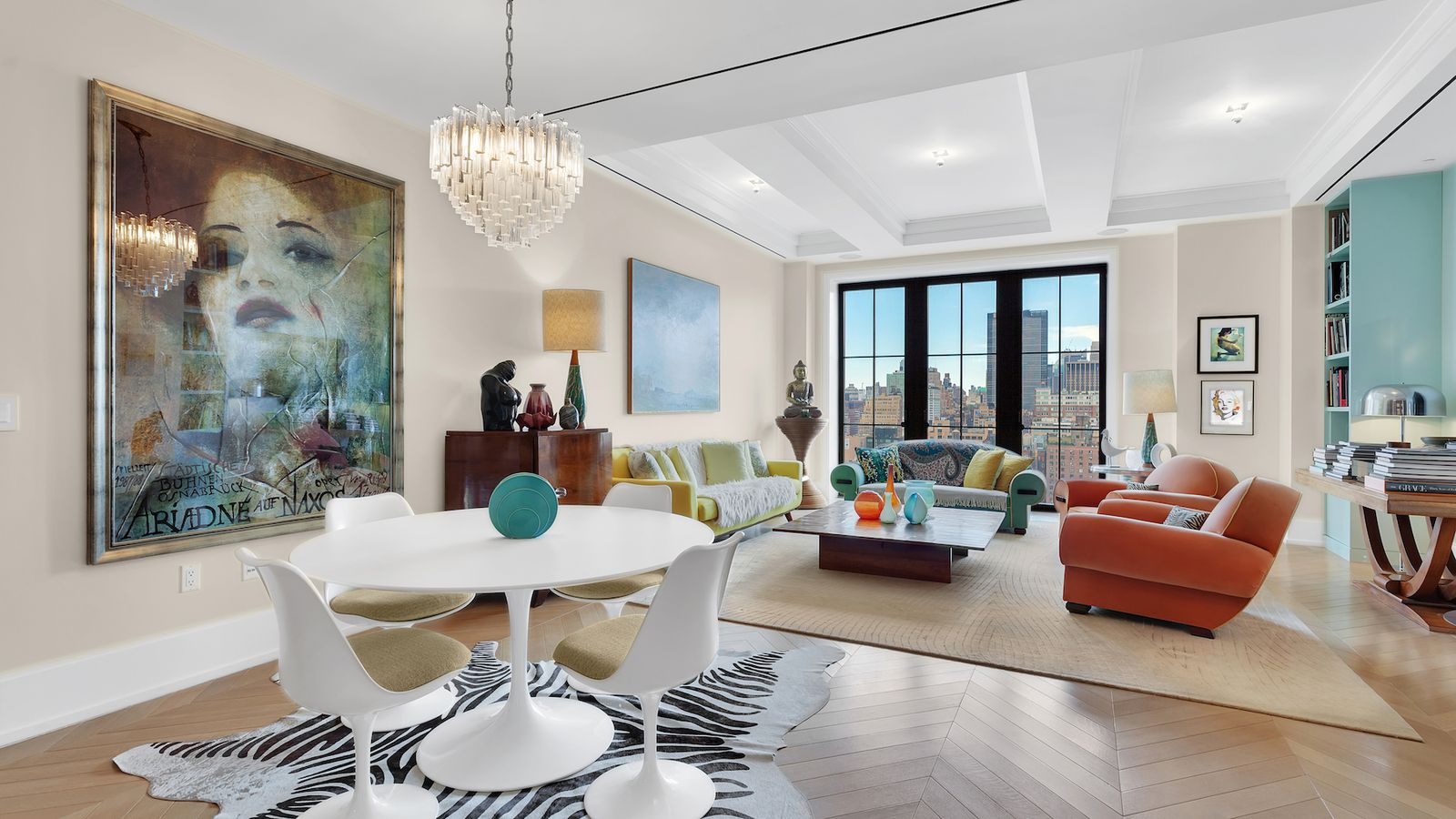 Makeup maven Laura Mercier wants $11M for her stylish Walker Tower condo