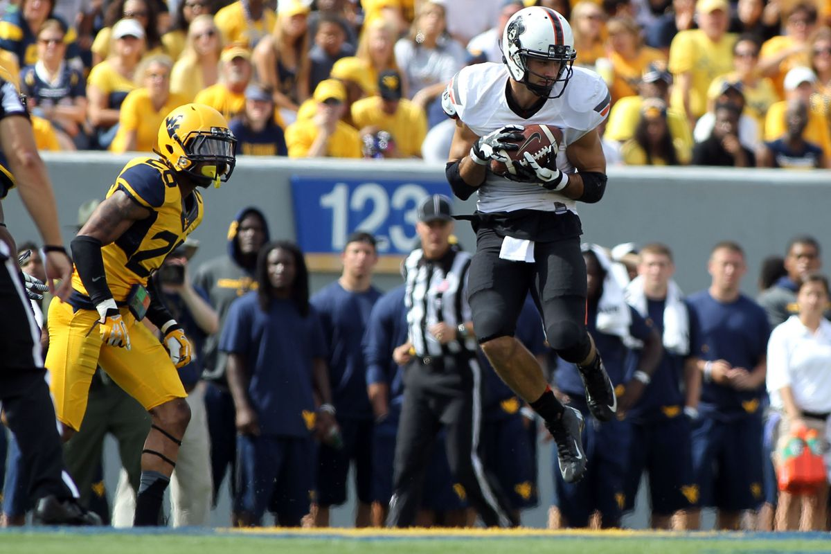 Oklahoma State received their first loss on Saturday, falling to West Virginia.