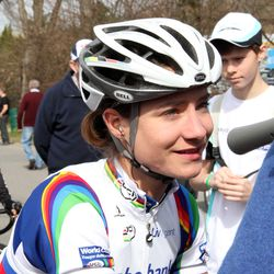 Marianne Vos, before the race