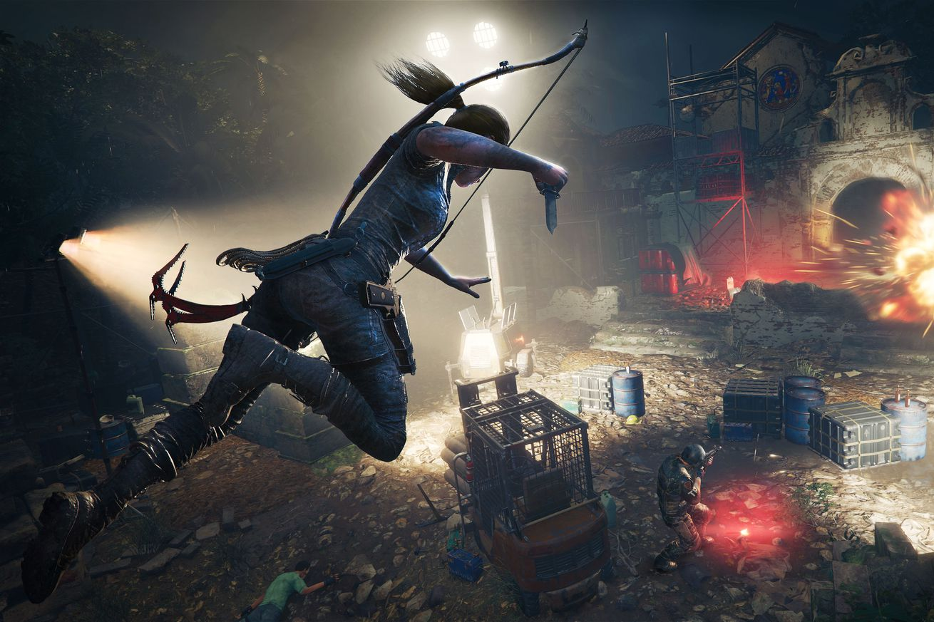 shadow of the tomb raider finds lara croft deadlier than ever and reckoning with her power