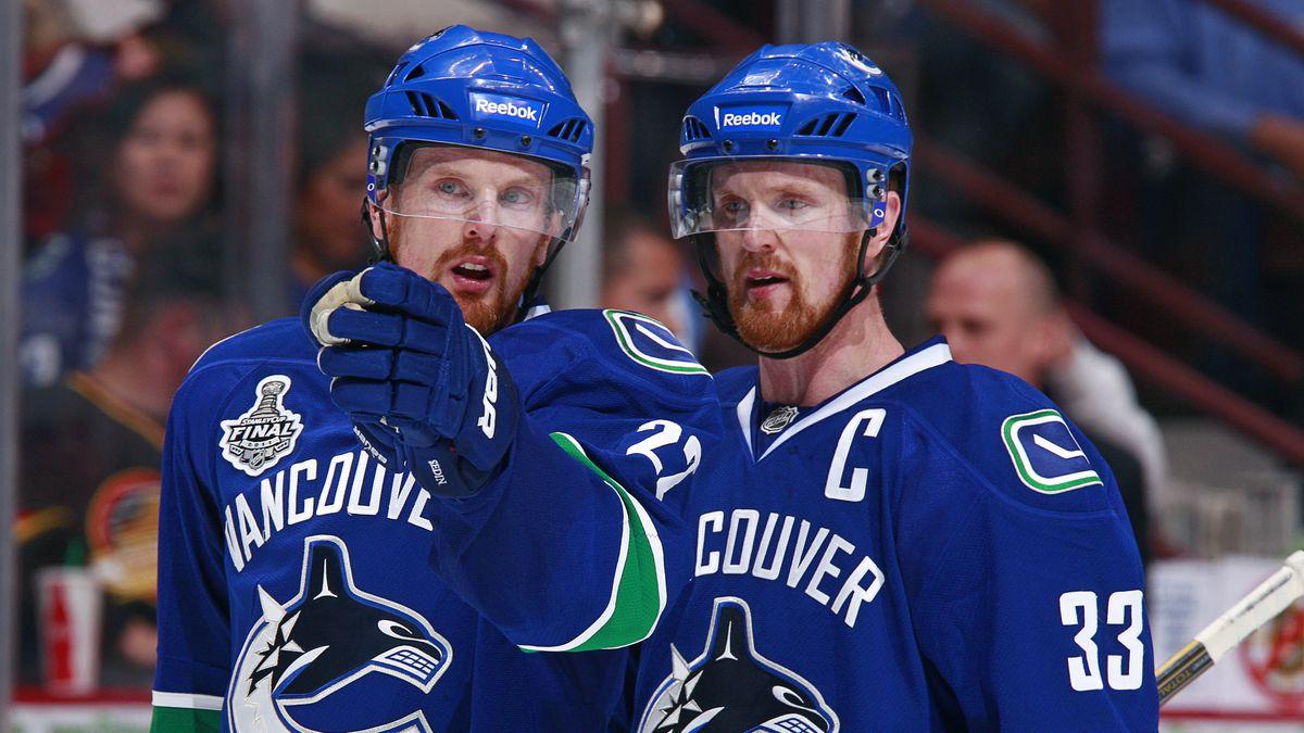 Boston Bruins v Vancouver Canucks - Game One