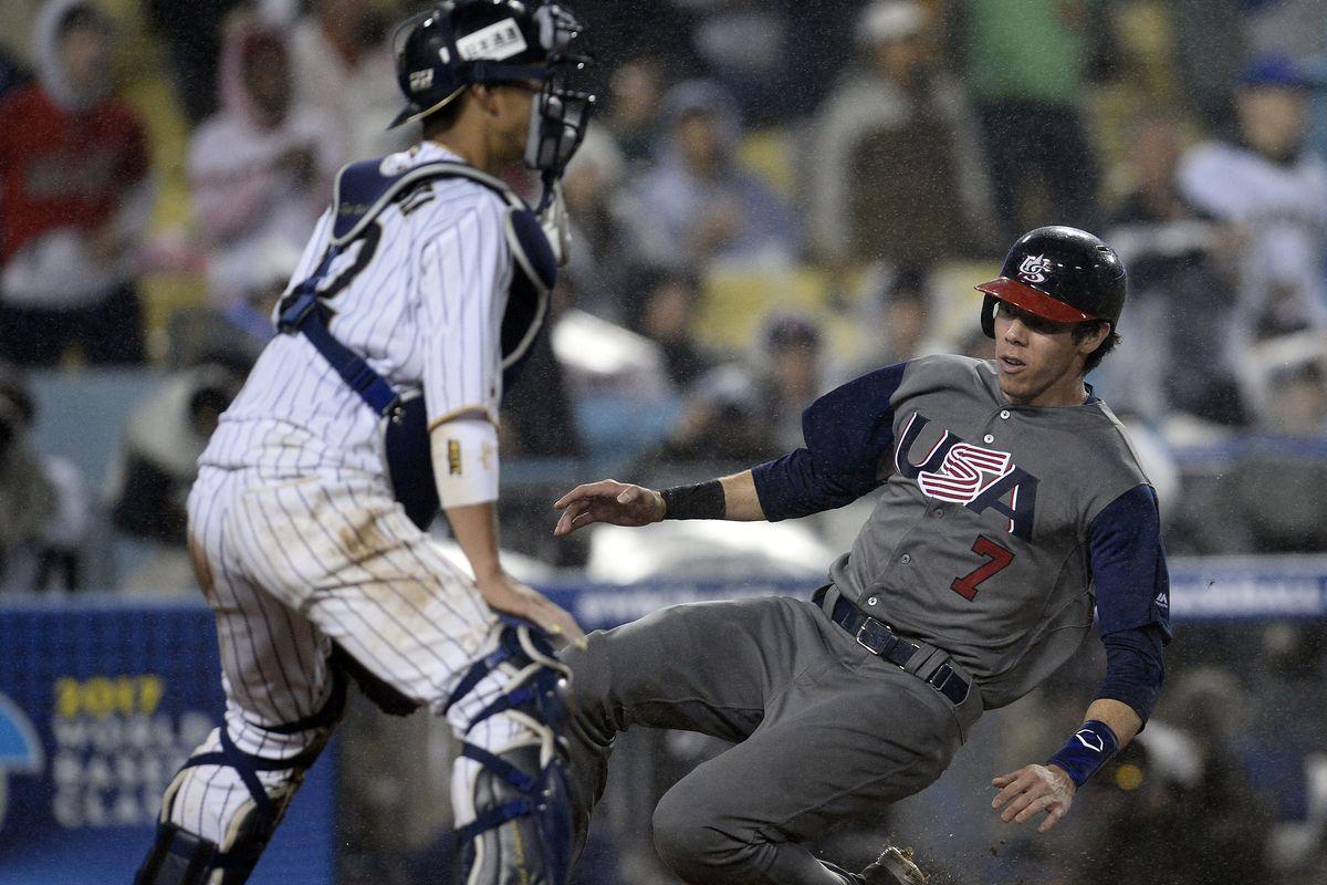 Baseball: World Baseball Classic-USA at Japan