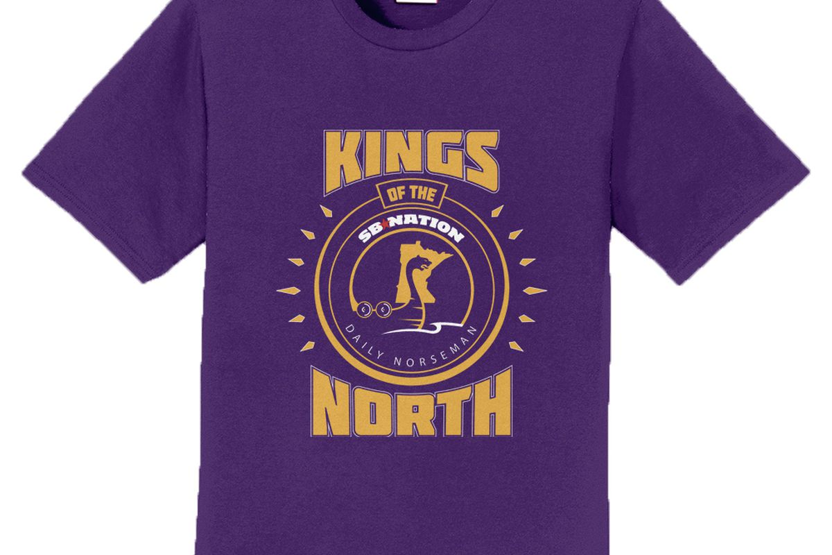 Celebrate The Vikings Division Title With Kings Of The North T