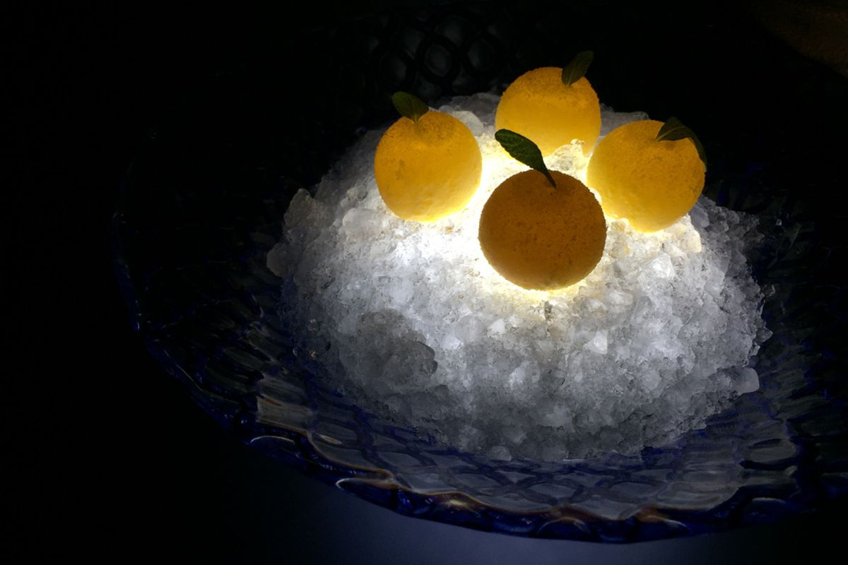 Food As Puzzle And Delight Dinner At Alinea Chicago Sun Times