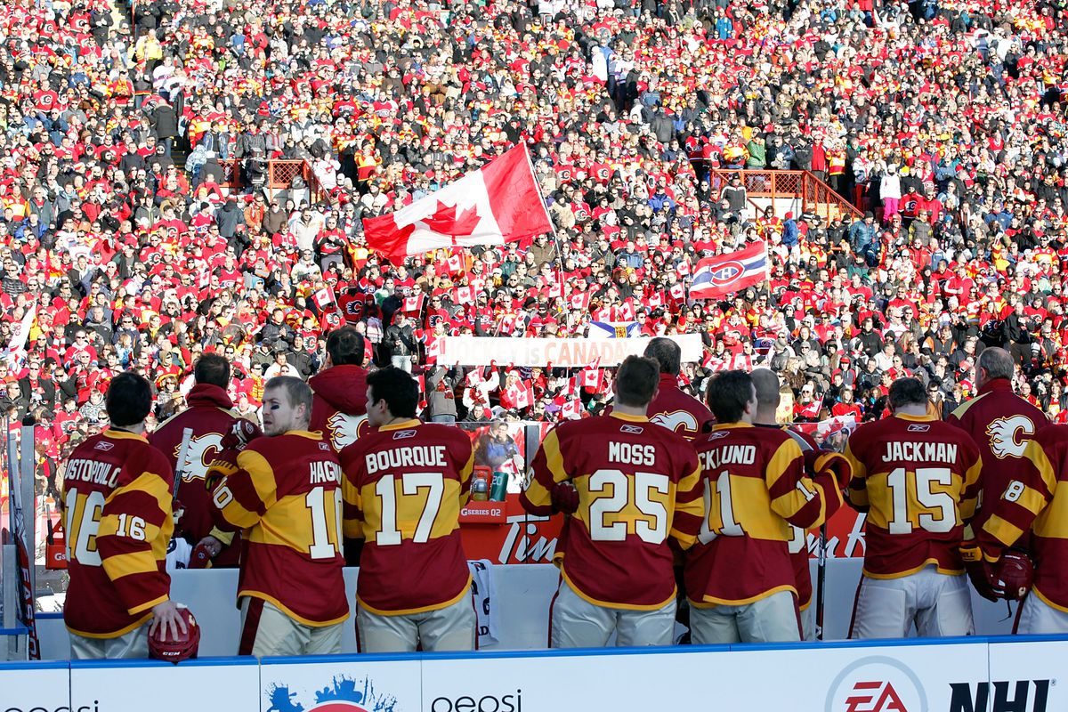 2011 Heritage Classic - Montreal Canadiens v Calgary Flames