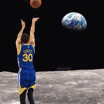 Image result for steph curry moon