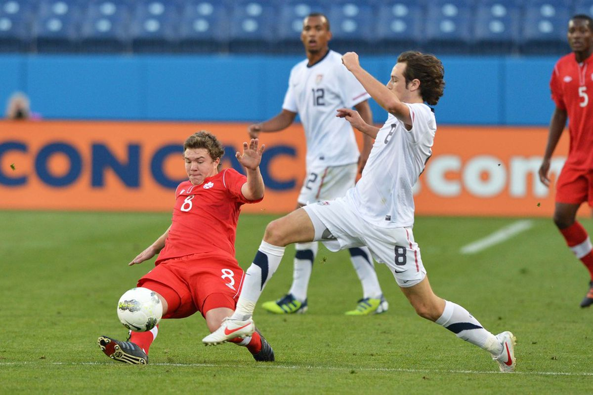 Samuel Piette had a good game against the US U-23's but a shot against their senior team could be in his future now.