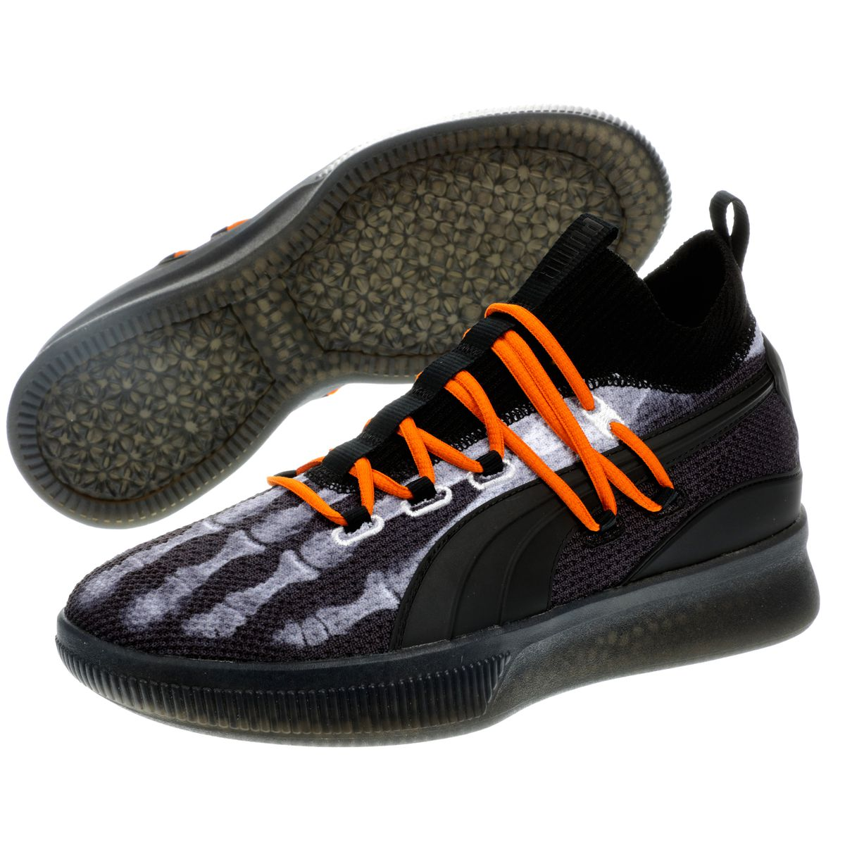 335175efa49 Puma s second colorway is the Halloween-themed Clyde Court X-Ray ...