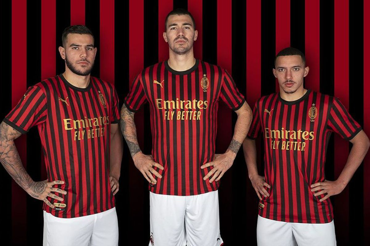 AC Milan Release Limited Edition Jersey To Celebrate 120 ...