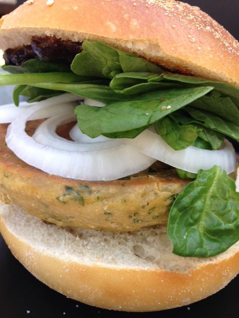 Chubby Chickpea special burger