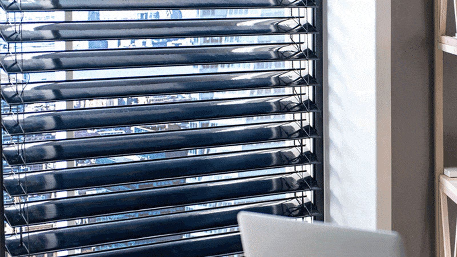 These solar panel window blinds generate energy while - Affordable interior design seattle ...