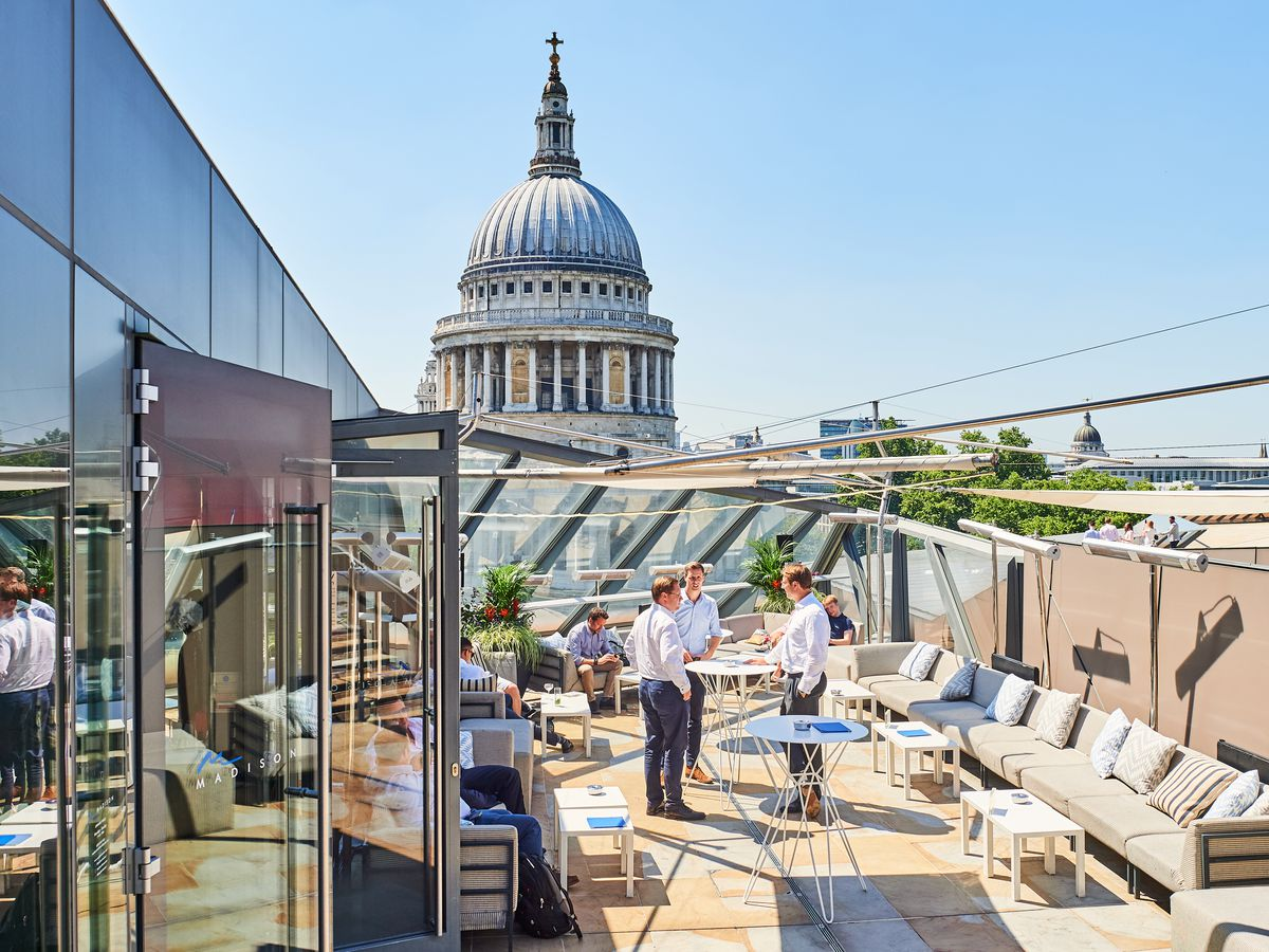 London's best rooftop restaurants and bars: Madison One New Change