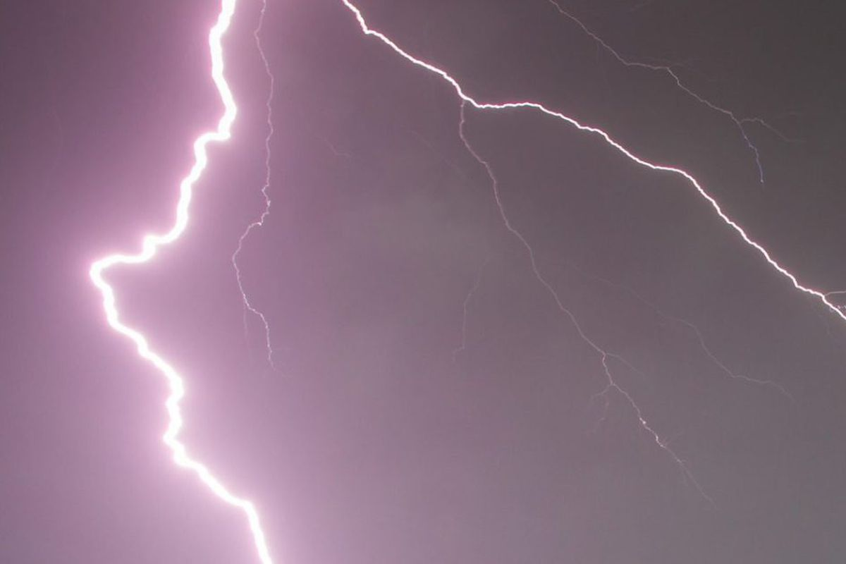 A severe thunderstorm watch was issued for the Chicago Area.