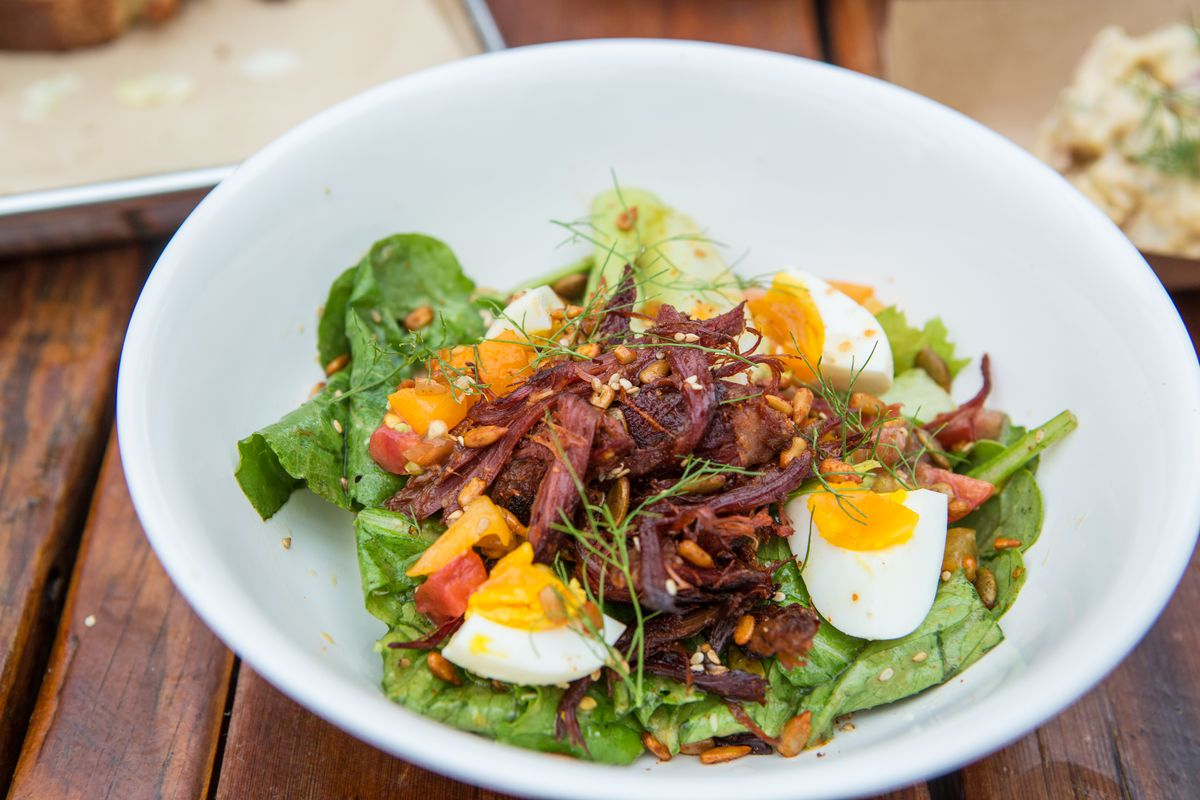The Cobb salad at Sour Duck