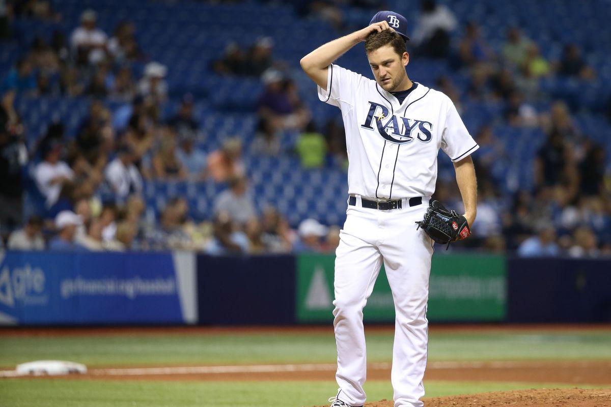 When will Matt Andriese return to the majors?