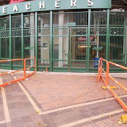 Bleacher entrance