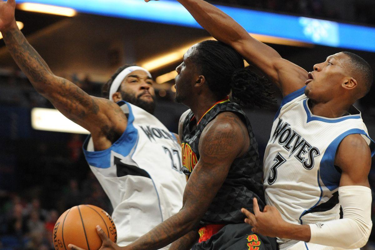 NBA: Atlanta Hawks at Minnesota Timberwolves