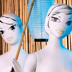 The Camille mannequin from illustrator <b>Jeffrey Fulvimari</b>, 1996