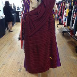 Robert Rodriguez Black Label Sophisticated Merlot Dress, $97