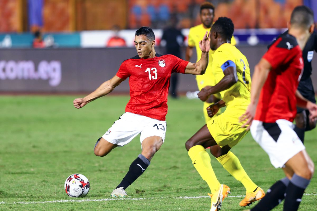 (SP)EGYPT-CAIRO-FOOTBALL-AFRICA CUP OF NATIONS-QUALIFICATION-EGYPT VS TOGO