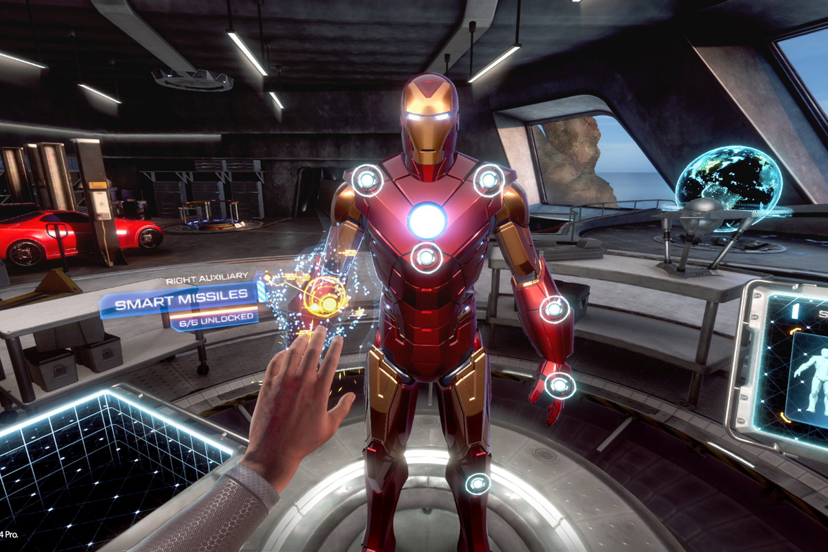 Iron Man VR review: a tinfoil knockoff of a truly great Iron Man game - The Verge
