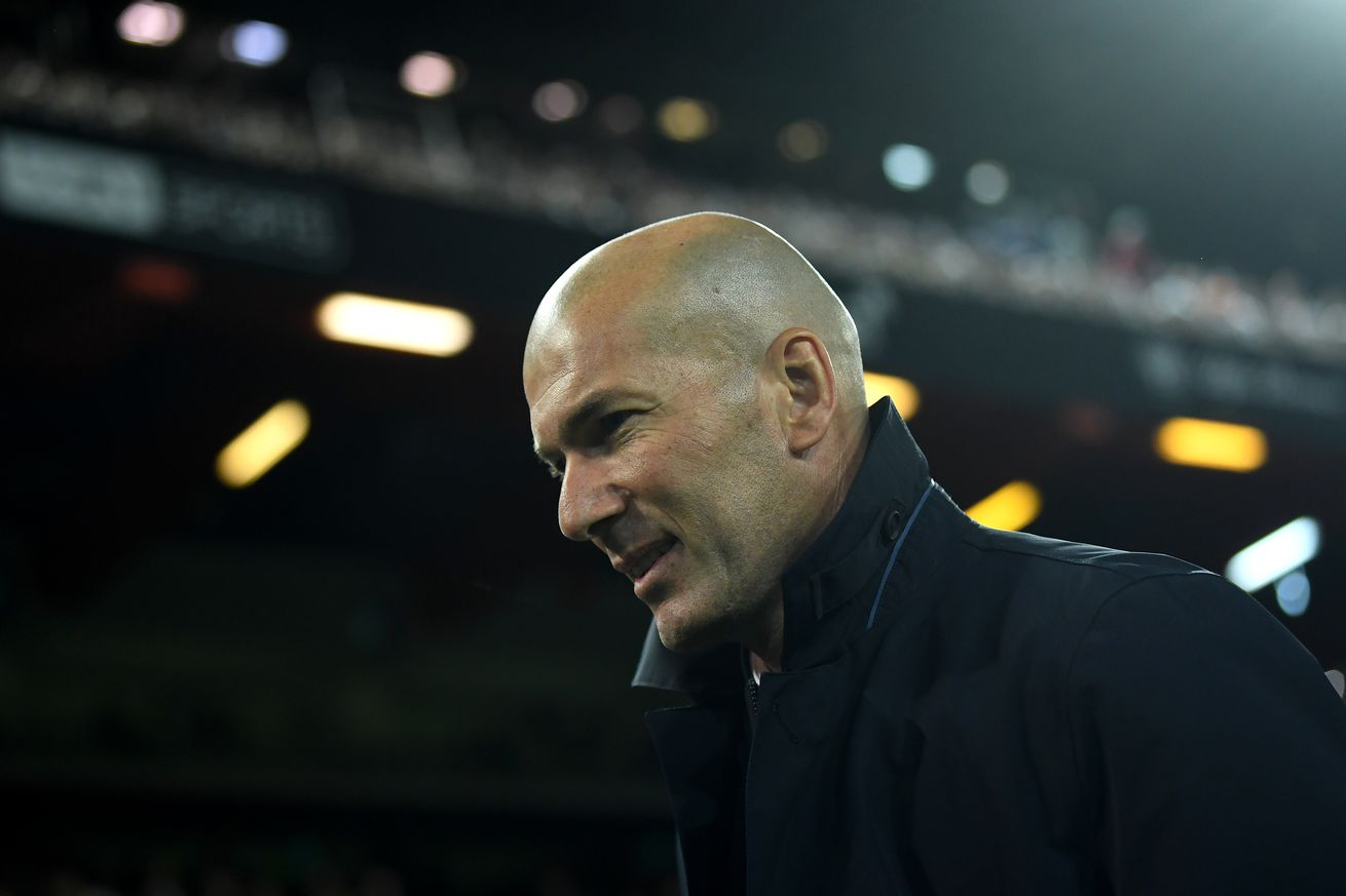 Zidane: I put Lucas Vázquez on the left to try to win the match