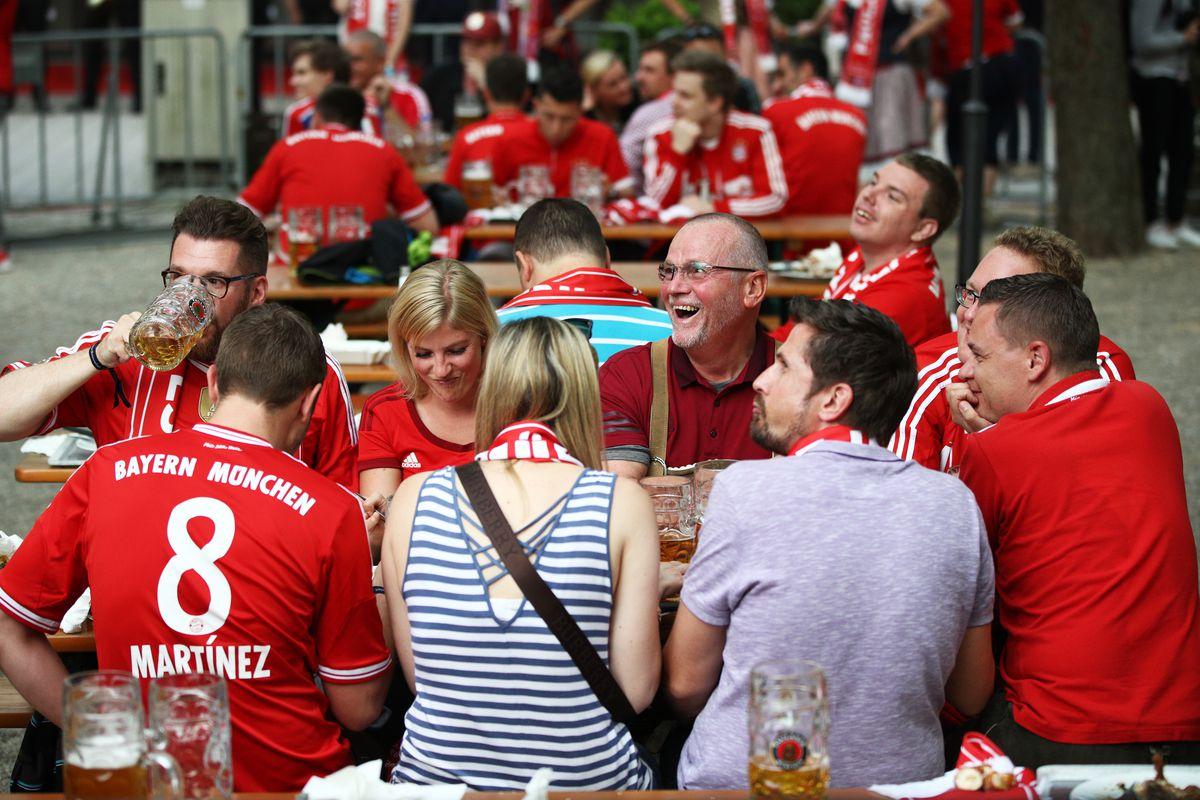 FC Bayern Muenchen Celebrates Winning The Bundesliga