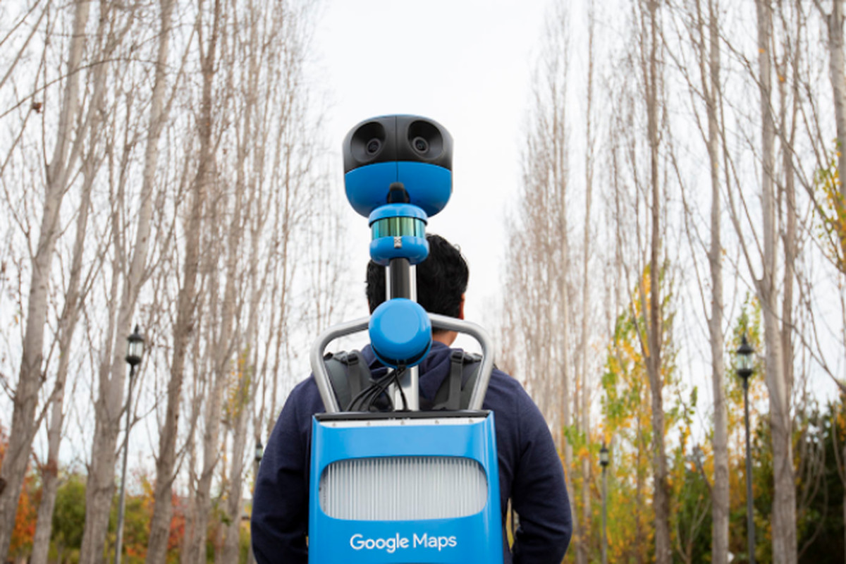 Google updated its Street View Trekker to look slightly less ... on see your house street view, google maps house view, google earth street view usa, google 360 degree street view, google maps panoramic view, 360 degree satellite view, google earth 360 view, 360 degree customer view, houses with 360 degrees view, google maps space view, google my home aerial view, google maps bird's eye view, virtual reality 360 degree view, camera 360 degree view, google maps street view,