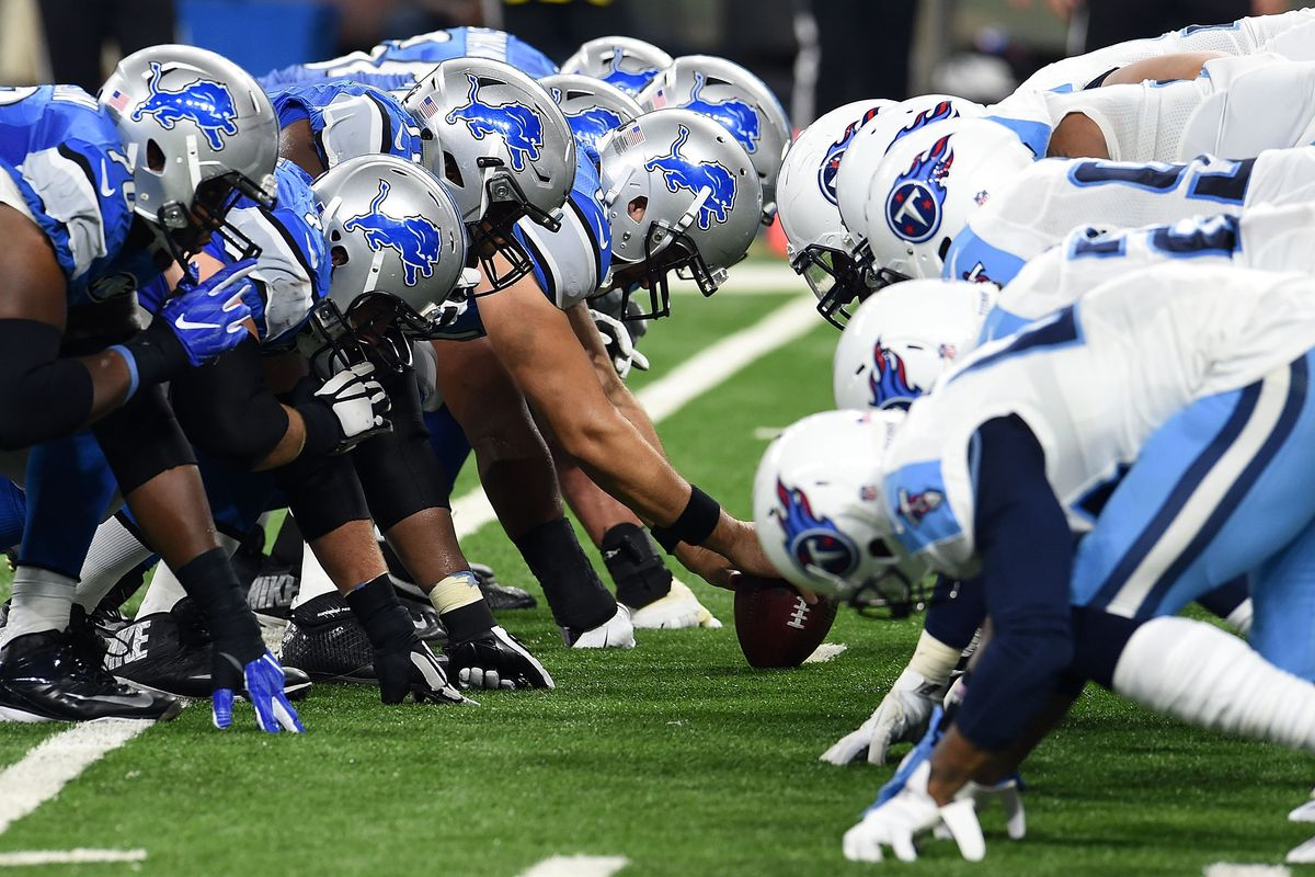 Tennessee Titans v Detroit Lions