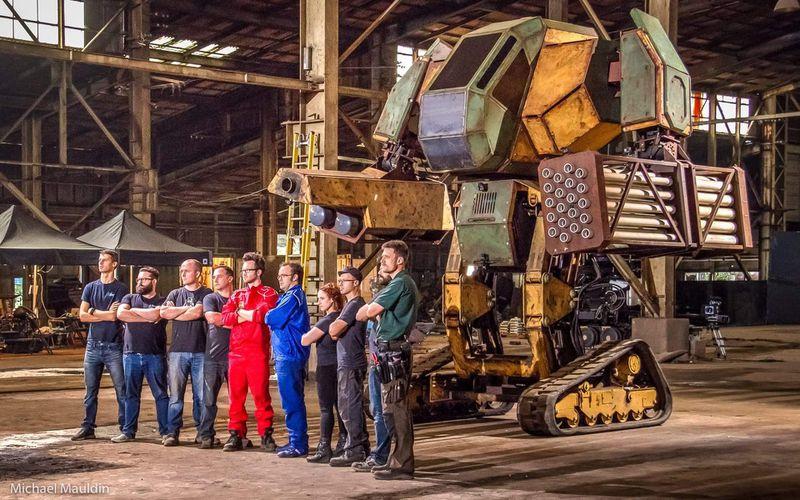 Đại chiến robot khổng lồ giữa Mỹ và Nhật diễn ra trong tuần tới, sẽ được phát trên Twitch - Ảnh 1.