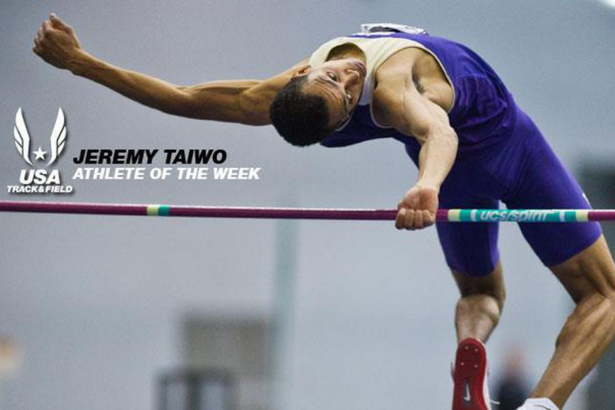 Jeremy Taiwo is a Dawg ... and the US Track and Field Athlete of the Week.