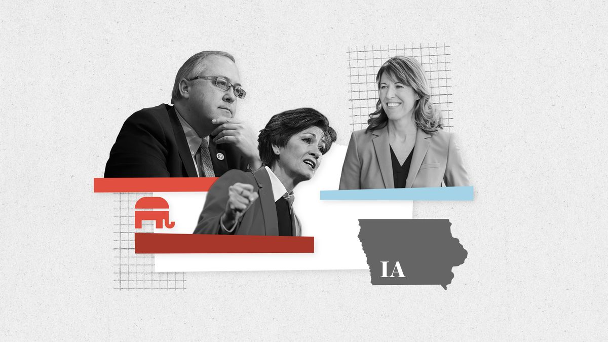Iowa primary voters will go to the polls Tuesday, June 5.