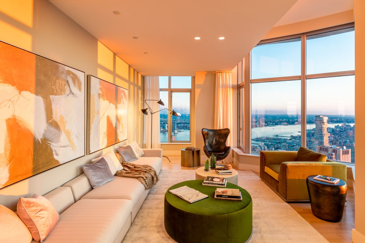 New York By Gehry Penthouse Up For Grabs As 45k Month