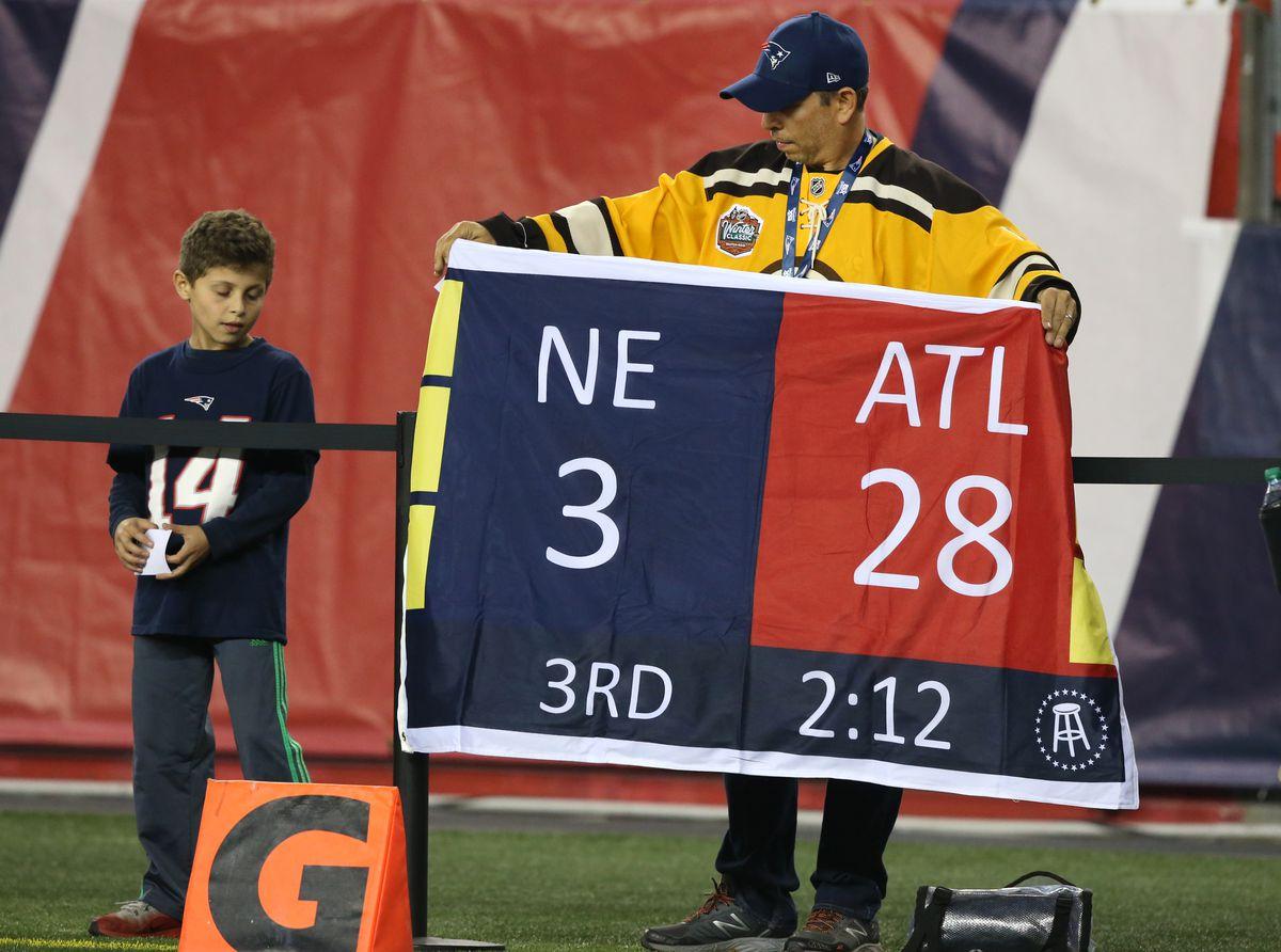 Atlanta Falcons Vs New England Patriots At Gillette Stadium