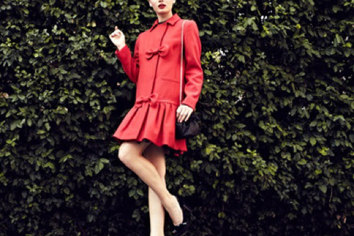 RED Valentino today on Gilt