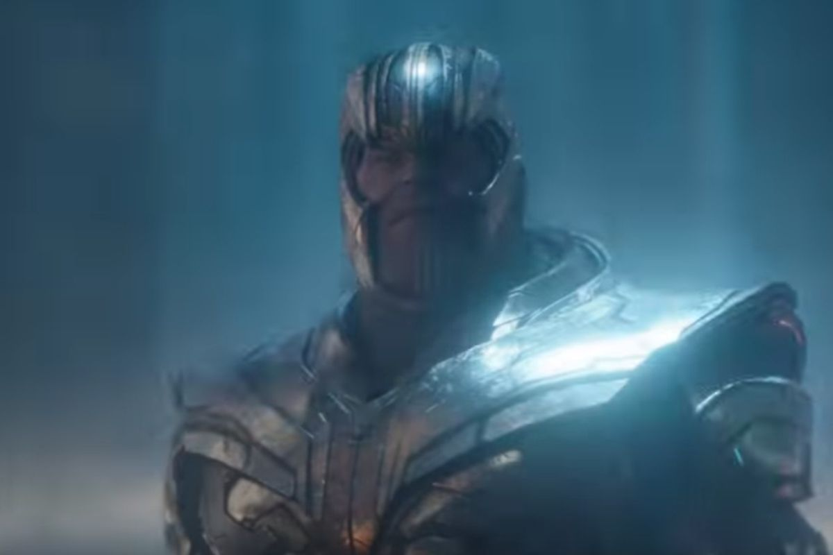 """The trailer shows Thanos donning new armor as well as what appears to be a new weapon that was recently introduced as part of Hasbro's """"Avengers: Endgame"""" Thanos toy."""