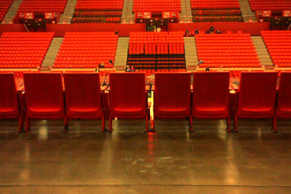An empty Cox Center doesn't equate when the team is so strong. What's happening in Oklahoma City?
