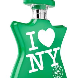 """Bond No.9 is offering free shipping on its I Love NY <a href=""""http://www.bondno9.com/shop/eau-de-parfum/i-love-ny/view/i-love-new-york-for-earth-day"""">scent</a> ($105 for 50 ml.)"""