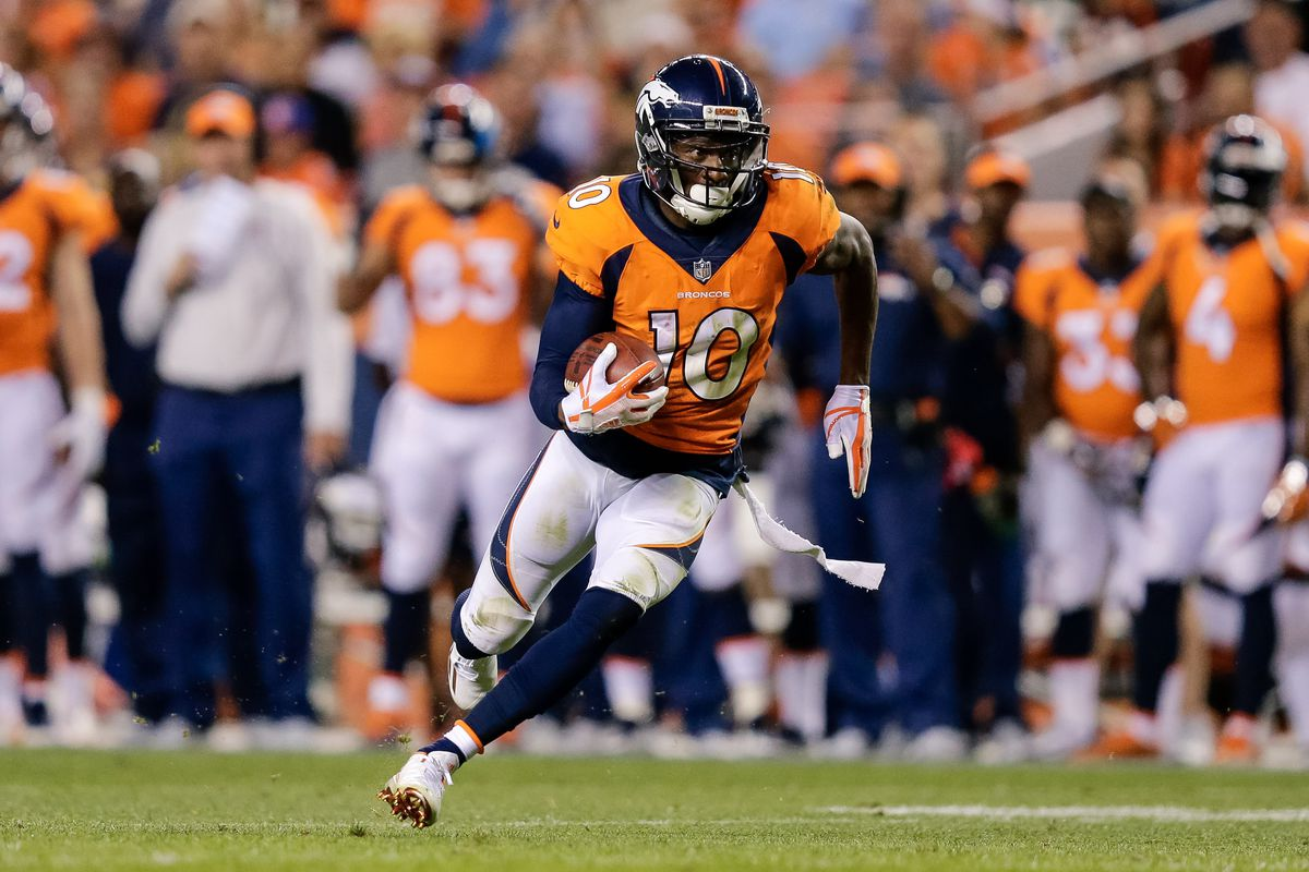 Horse Tracks Emmanuel Sanders wants the Broncos offense to be