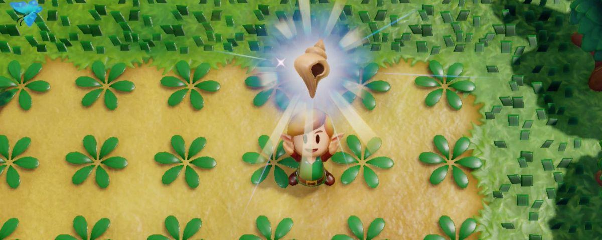 Link's Awakening Secret Seashells locations map