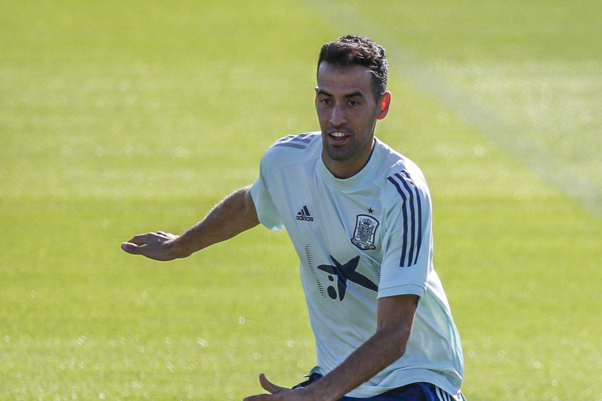 Training Spain