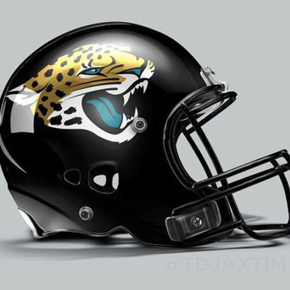Jaguars New Helmet 2013 New Jaguars log...